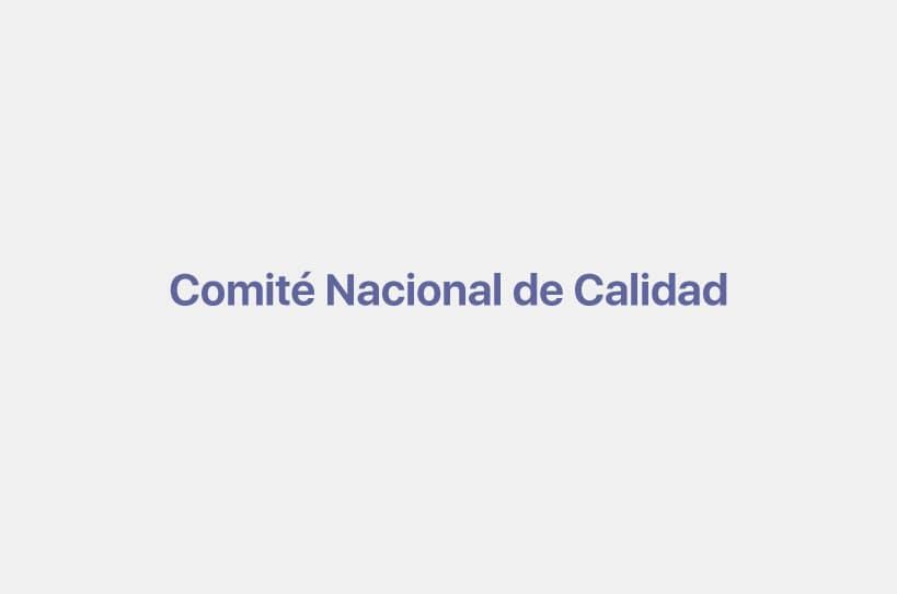 Comité Nacional de Calidad