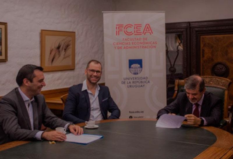 Convenio de Cooperación Académica entre FCEA y Memory