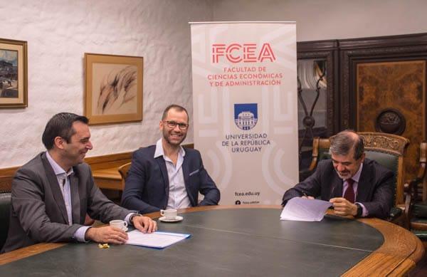 FCEA y Memory firmaron Convenio de Cooperación Académica